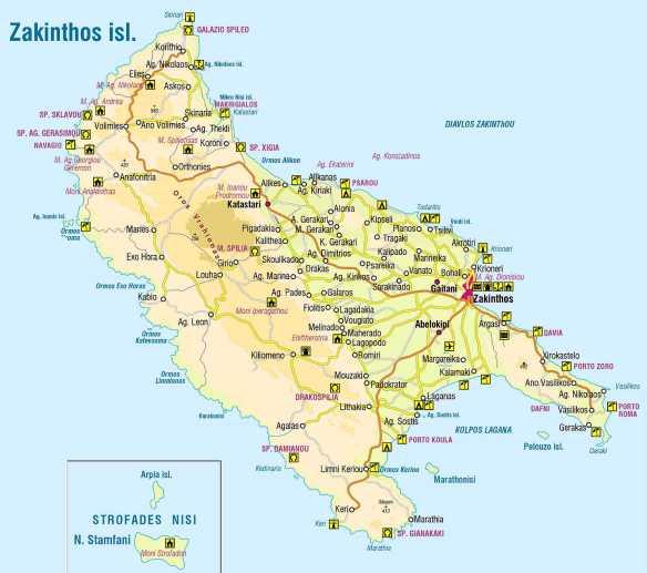 Insula Zakynthos Grecia Atl News